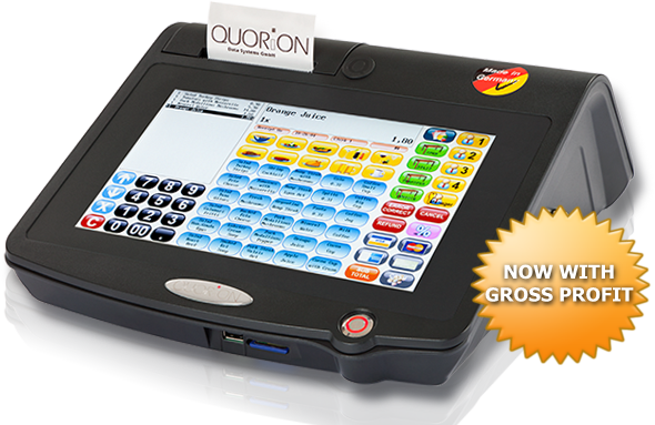 QTouch10 - all in one POS system with touch screen and integrated printer