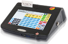 Small all-in-one POS for pizza
