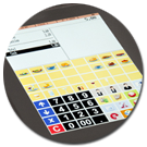 Qtouch8 - touch screen
